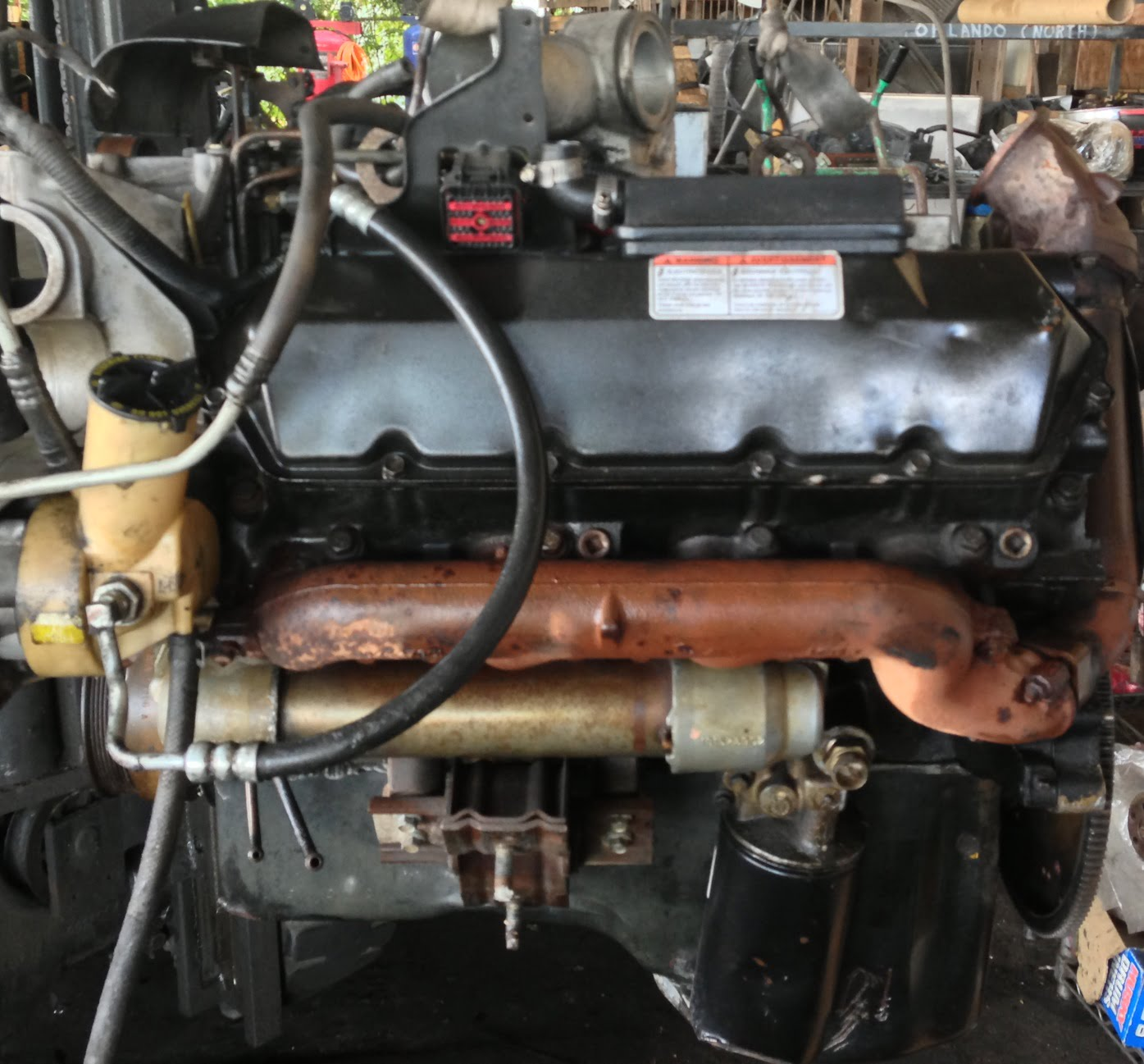 Ford F250 F350 F450 F550 Engine 7 3L Diesel 2001